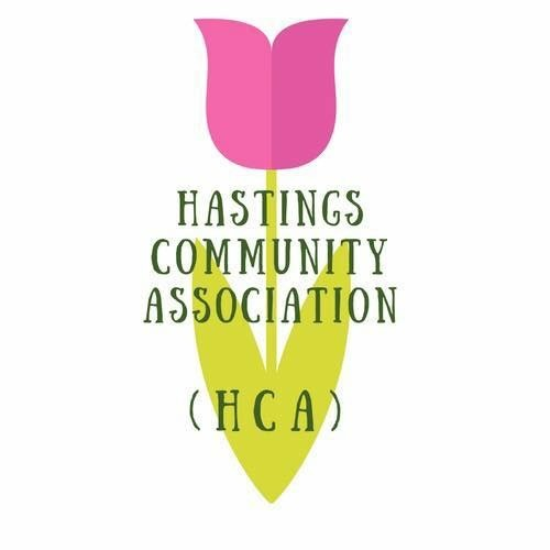 Hastings Community Association HCA Logo. Loughborough Community & Events Group